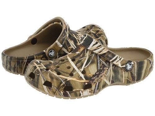 Sandália Crocs Classic Realtree Max-4 Hd Infantil