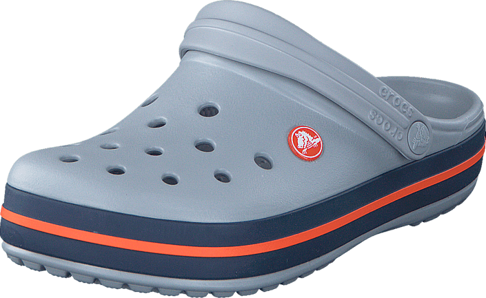 Sandália Crocs Crocband Adulto Light Grey + Nfe