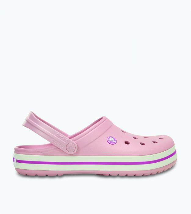 Sandália Crocs Crocband Adulto Pearl Pink