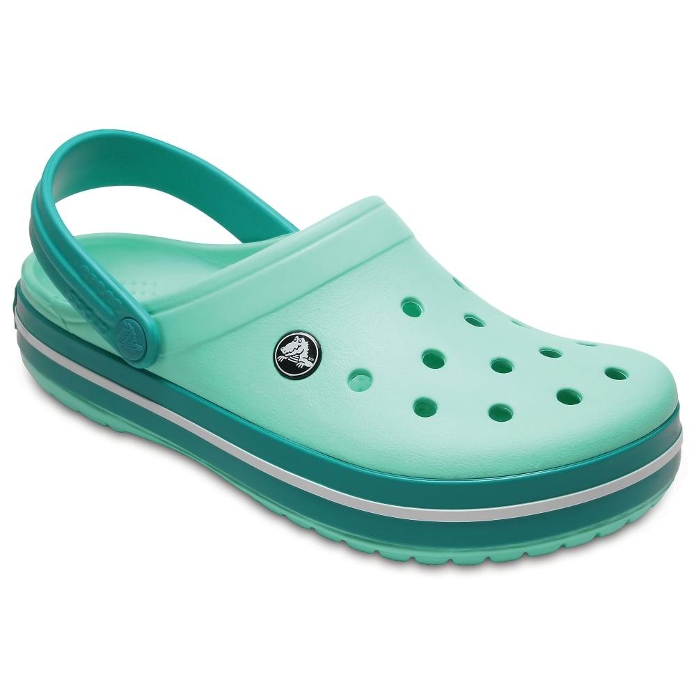 Sandália Crocs Crocband Adulto Tropical Teal