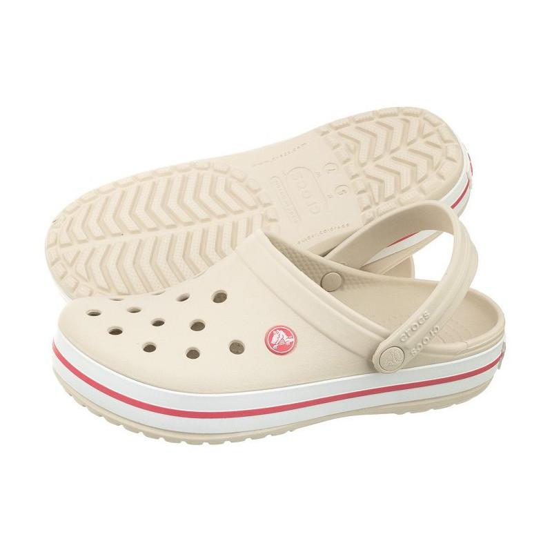 Sandália Crocs Crocband Infantil Stucco/Melon