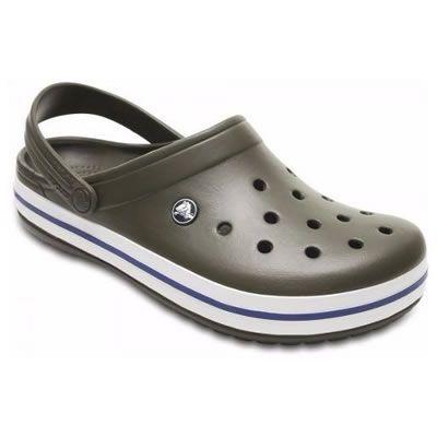 Sandália Crocs Crocband Infantil dark Camo Green\Stuc