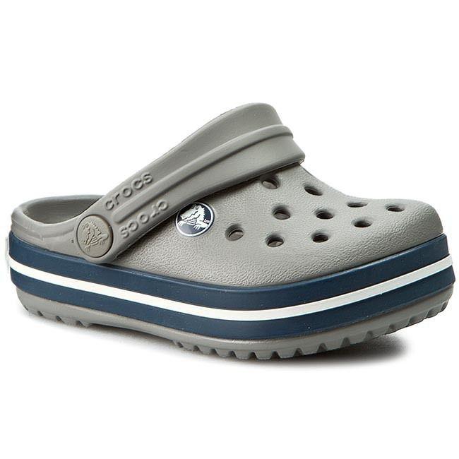 Sandália Crocs Crocband Infantil Smoke\Navy
