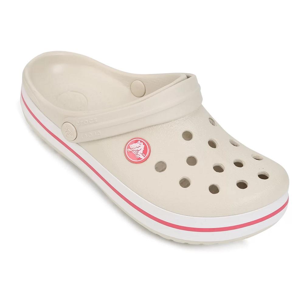 Sandália Crocs Infantil Crocband - Stucco/Melon