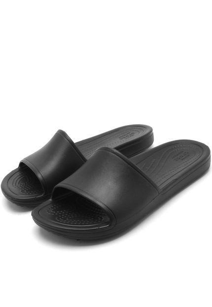 Sandália Crocs Sloane Slide W Preta