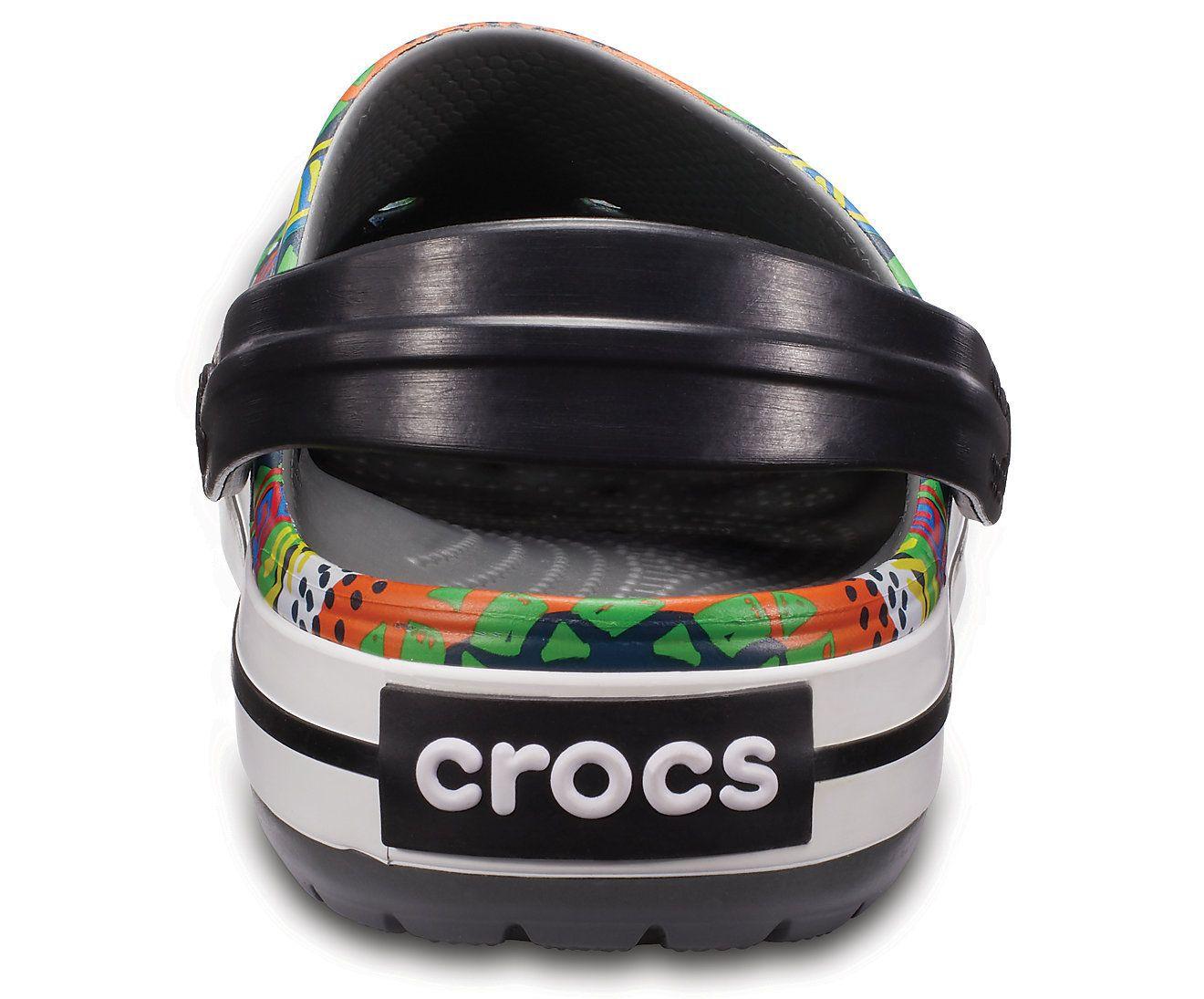 Sandália Crocs Graphic Clog Slate - Grey / Black