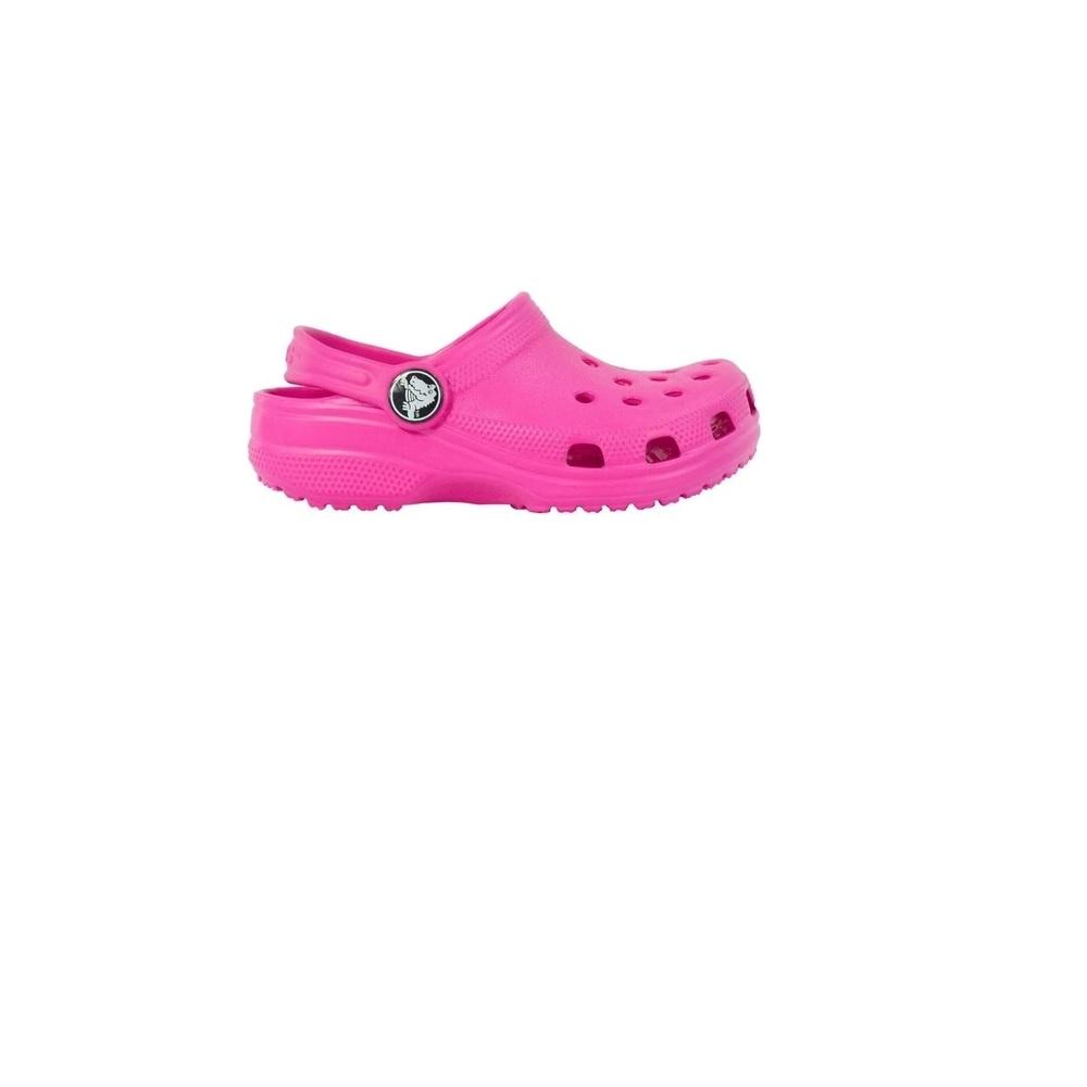 Sandália Crocs Infantil Classic Neon - Magenta