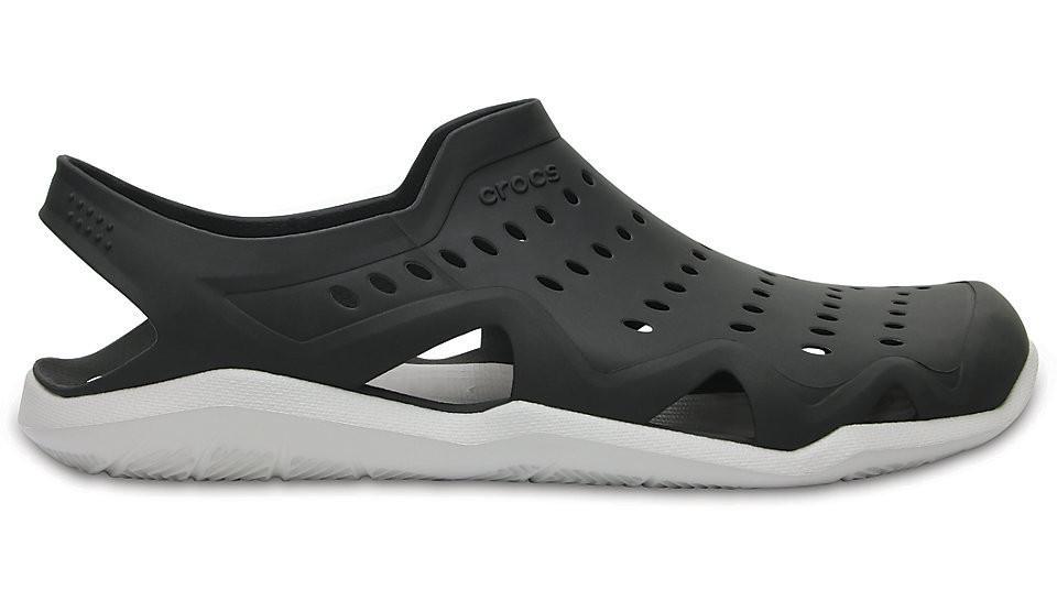 Sandália Crocs Swiftwater Wave - Black