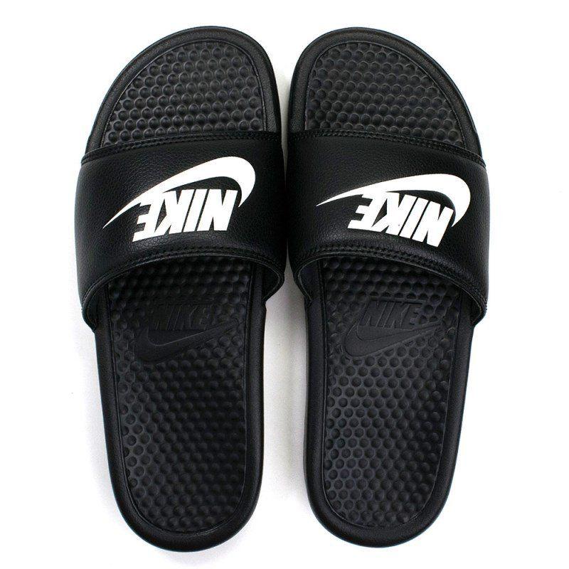 Chinelo Sandália Nike Benassi Swosh Original - Preto