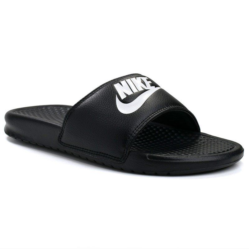 Chinelo Sandália Nike Benassi Swosh - Preto