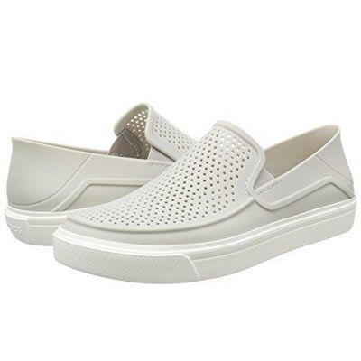 Sapato Crocs Feminino Citilane Roka - Pearl White