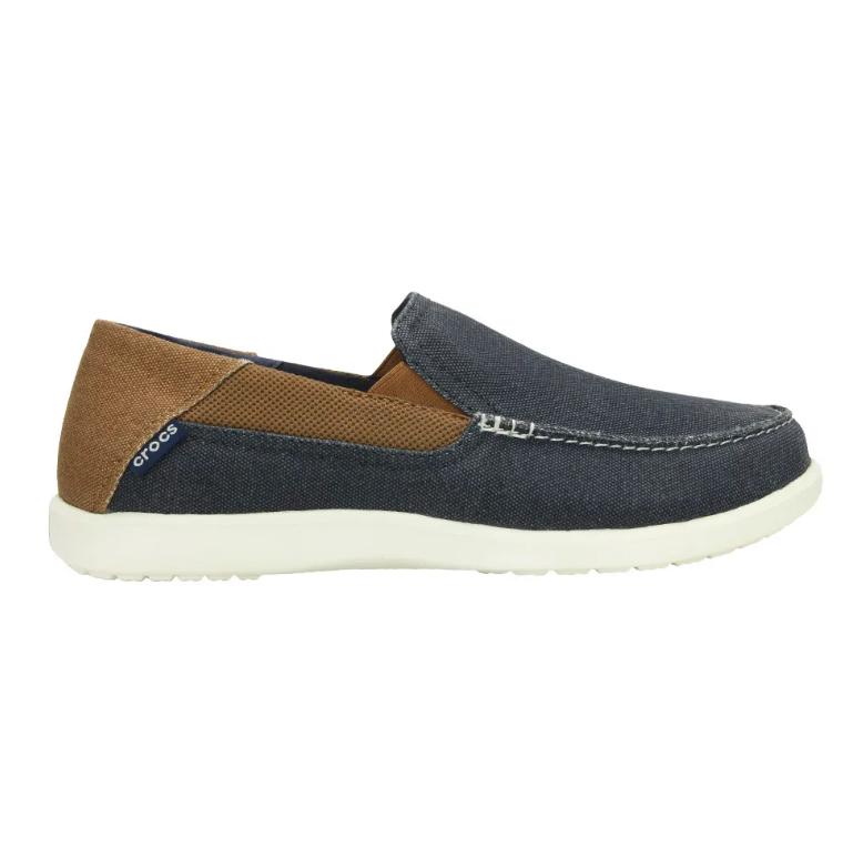 Sapato Crocs Masculino Santa Cruz 2 Original Navy/Hazelnut