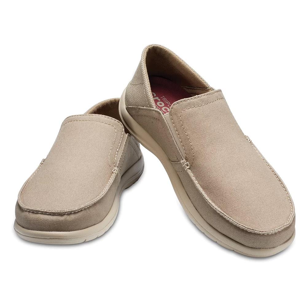 Sapato Crocs Masculino Santa Cruz Convertible slp m - khaki