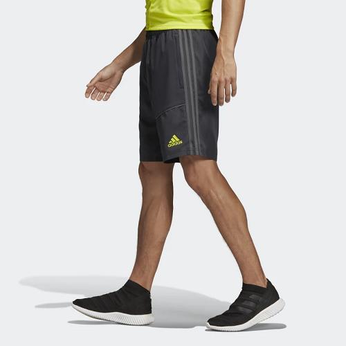 Short Adidas Flamengo CRF DOWNTIME - Cinza/verde