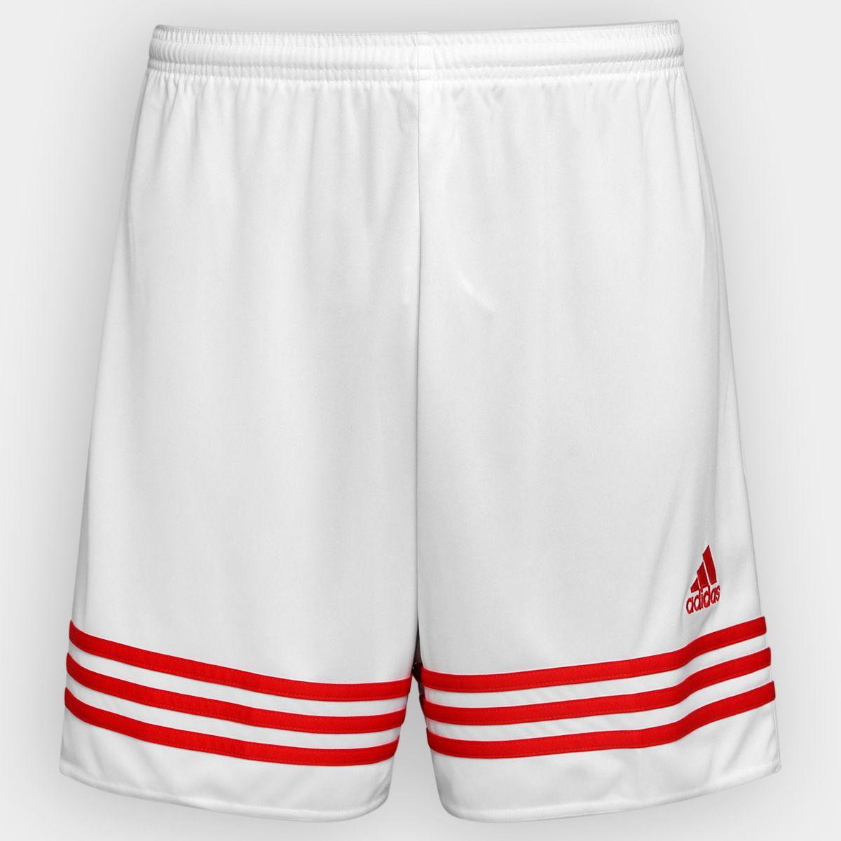 Short Adidas Masculino Entrada 14 Sho - Branco