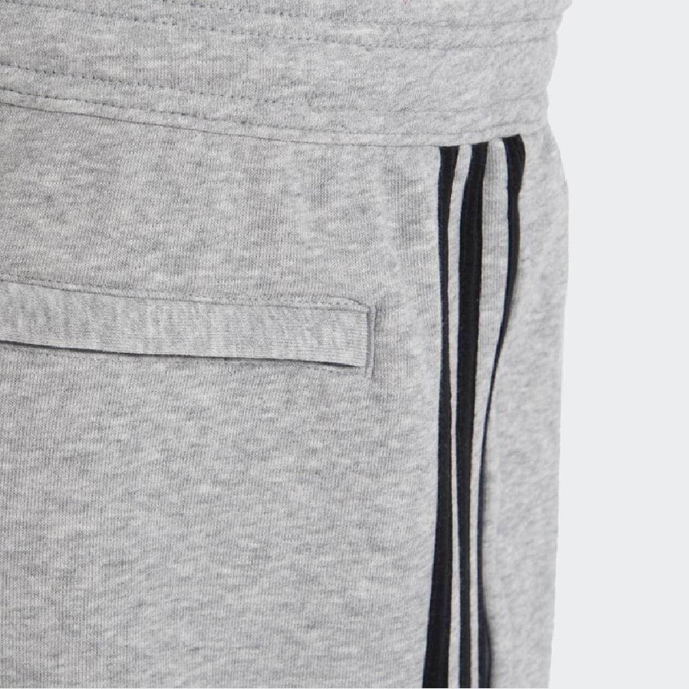 Short Moleton CR Flamengo Adidas - Masculino / Cinza Claro