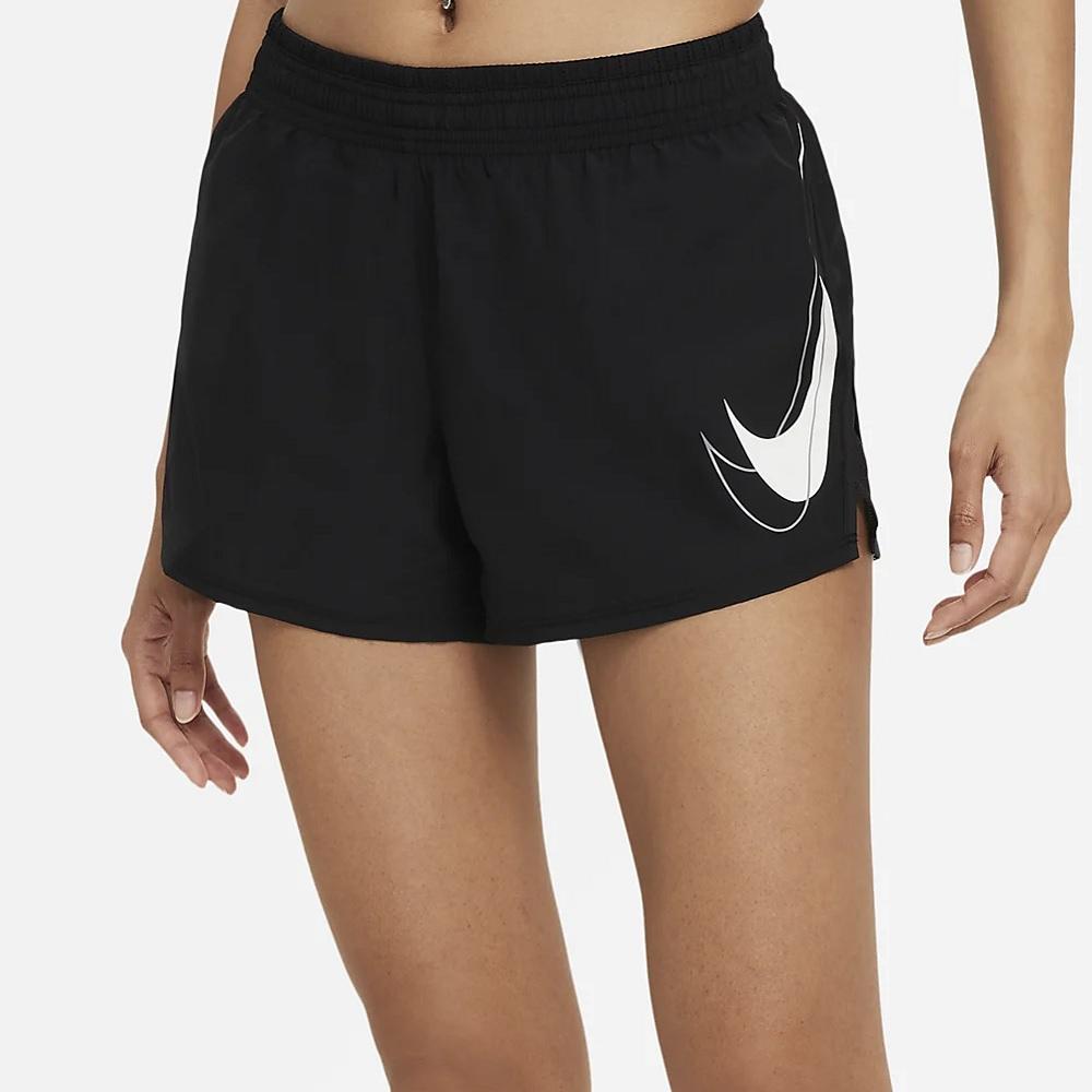 Short Nike Swoosh Run Feminino - Preto