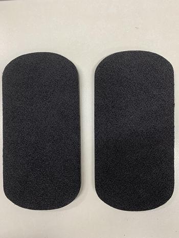 Slider disco deslizante para exercício - SK8 - Preto