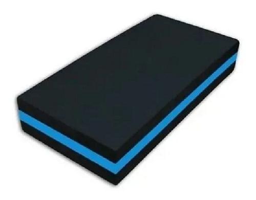 Step Eva 60X30X10 Cm - Preto\Azul