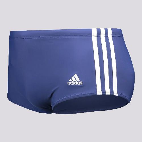 Sunga Adidas 3S Wide Marinho