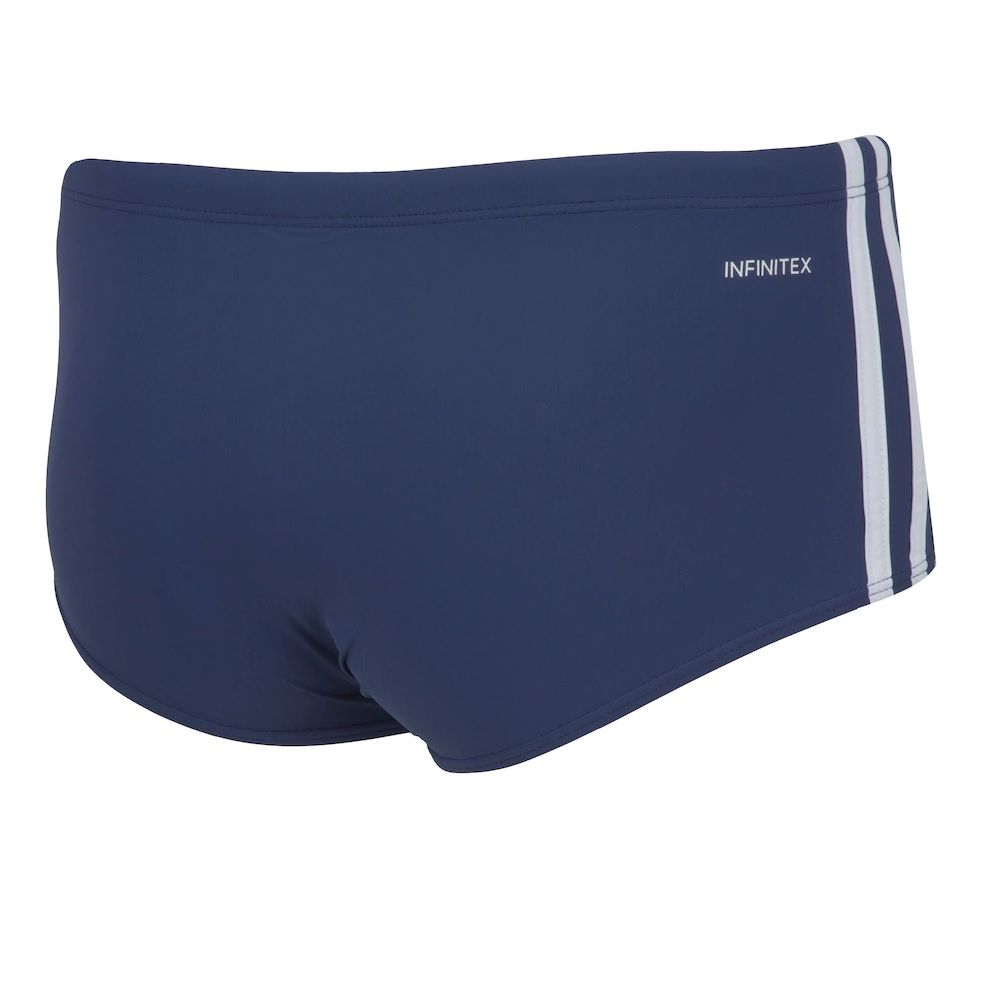 Sunga Adidas 3S Wide - Marinho