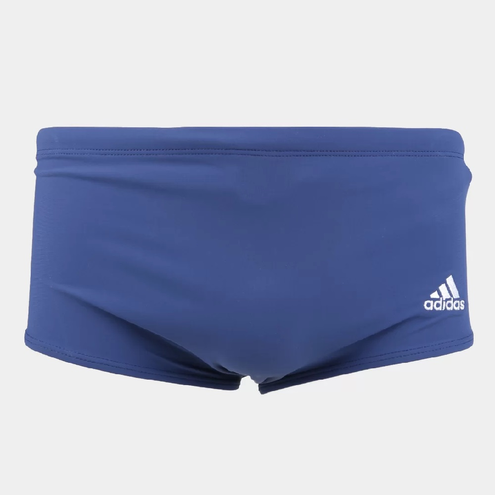 Sunga Adidas 3S Wide - Matinho/Azul