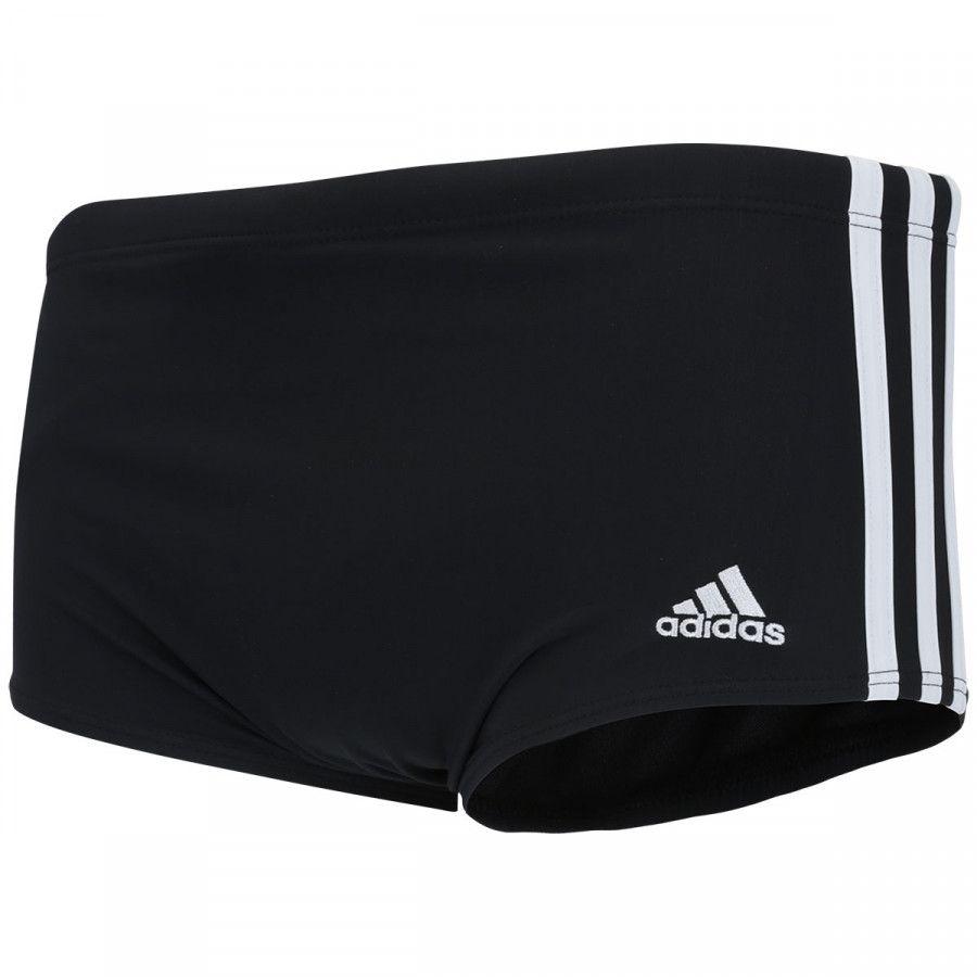 Sunga Adidas 3S Wide - Preto