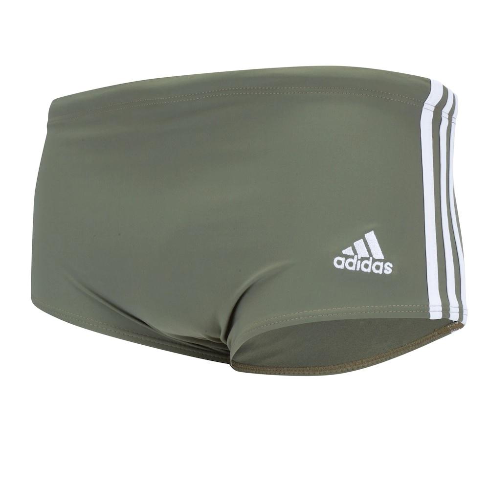 Sunga Adidas 3S Wide - Verde