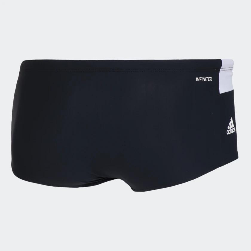 Sunga Adidas Color Blocked Wide - Preto