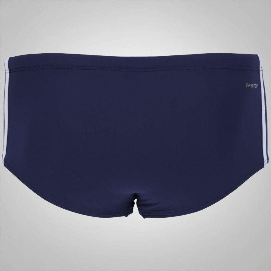 Sunga 3S Média Adidas - Azul