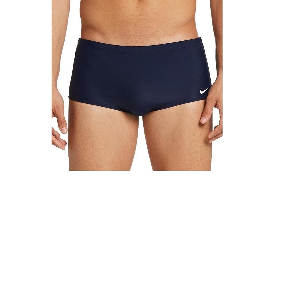 Sunga Nike Lateral Larga Midnight - Azul Marinho
