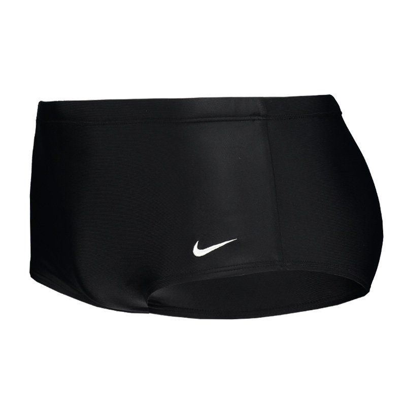 Sunga Nike Lateral Larga Midnight - Preto