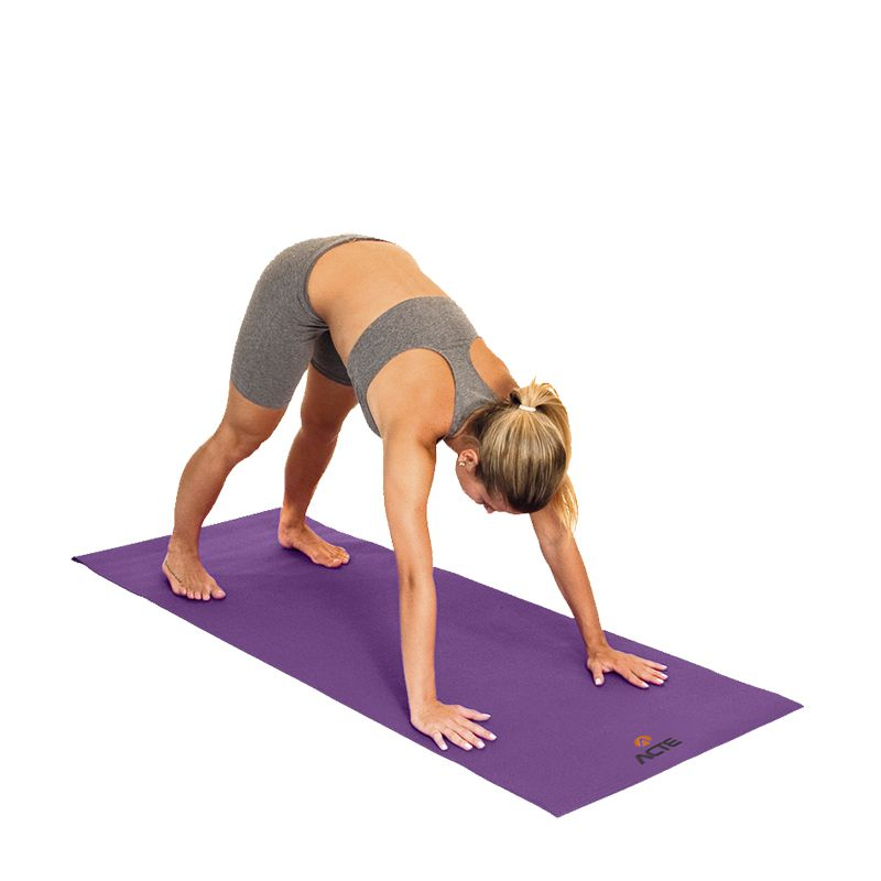 Tapete Yoga Pilates Alongamento  – Acte Roxo T10