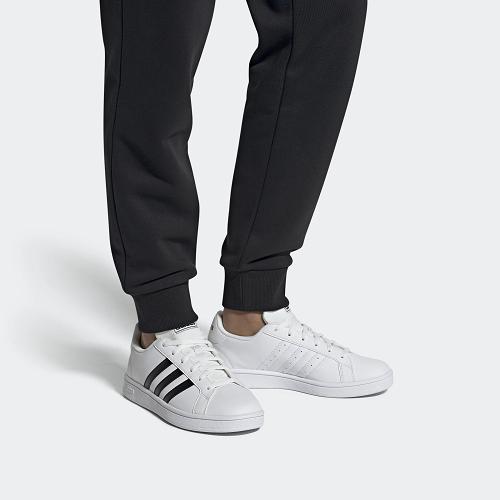 Tênis Adidas Grand Court Base - Masculino - Branco