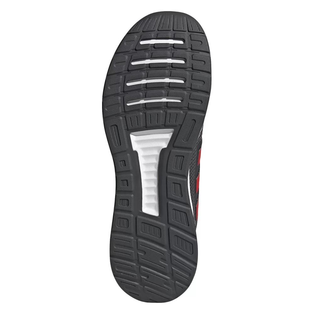 Tênis Adidas Run Falcon - Cinza / Vermelho