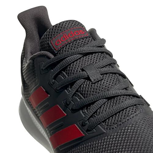 Tênis Adidas Run Falcon Masculino - Cinza e Vermelho