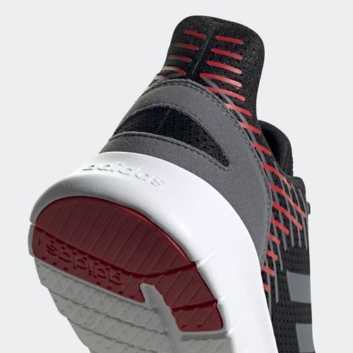 Tênis Adidas TÊNIS ASWEERUN Masculino - Preto e vermelho