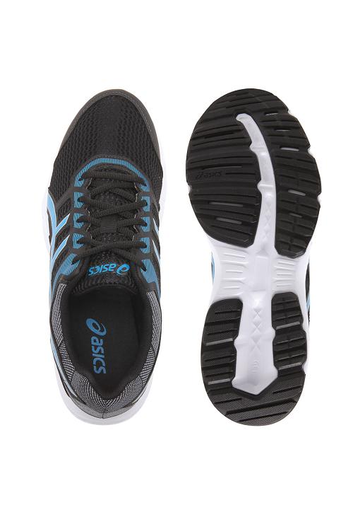 Tênis Asics Gel-Excite 5 Preto e Azul - Original