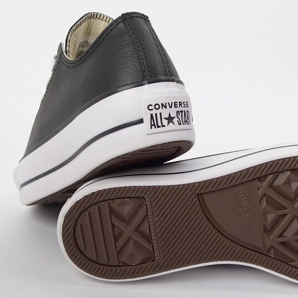 Tênis Converse All Star Chuck Taylor Plataforma - Preto/Branco