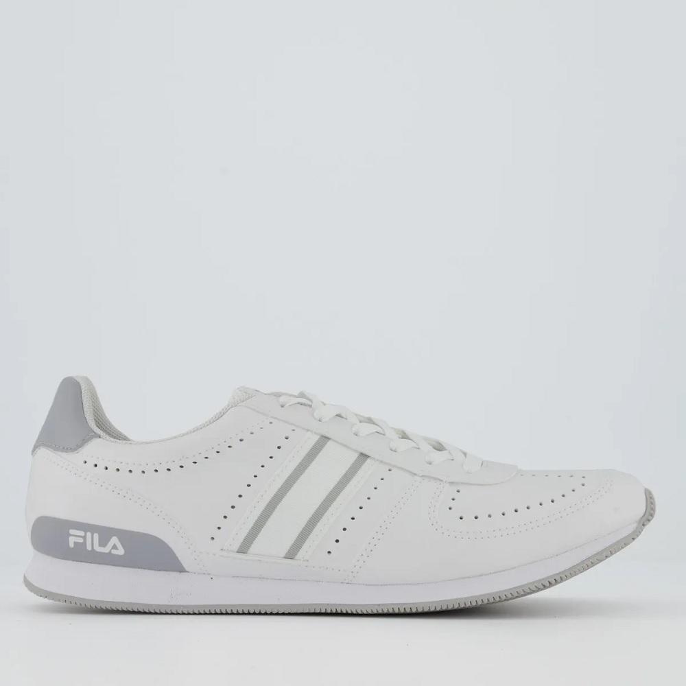 Tênis Fila F-Retro Sport 2.0 - Branco e prata