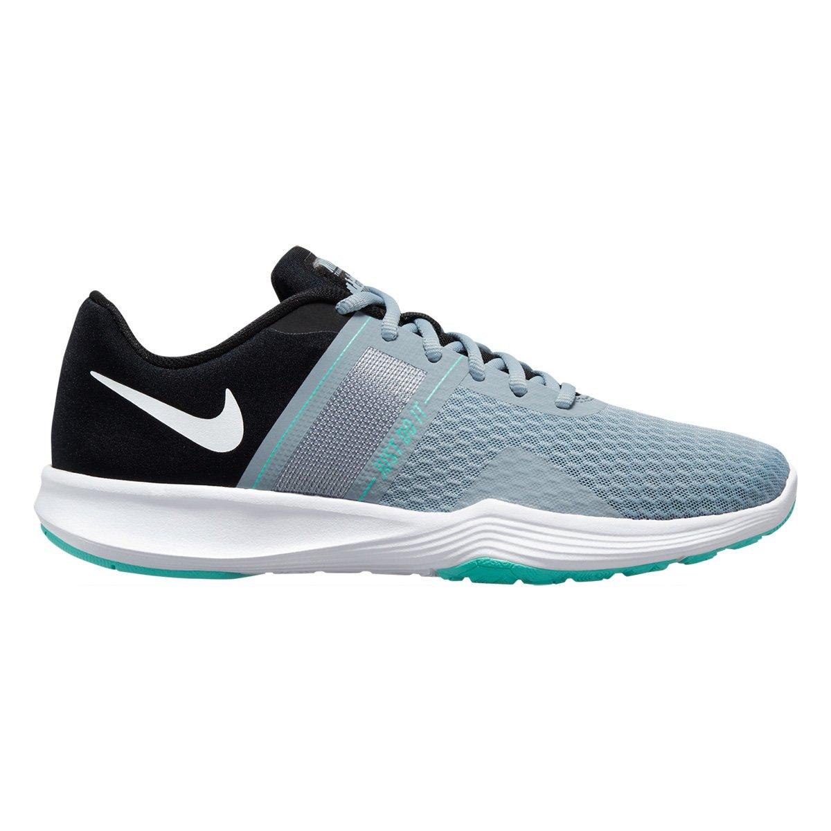 Tênis Nike City Trainer 2 Feminino - Preto e Prata