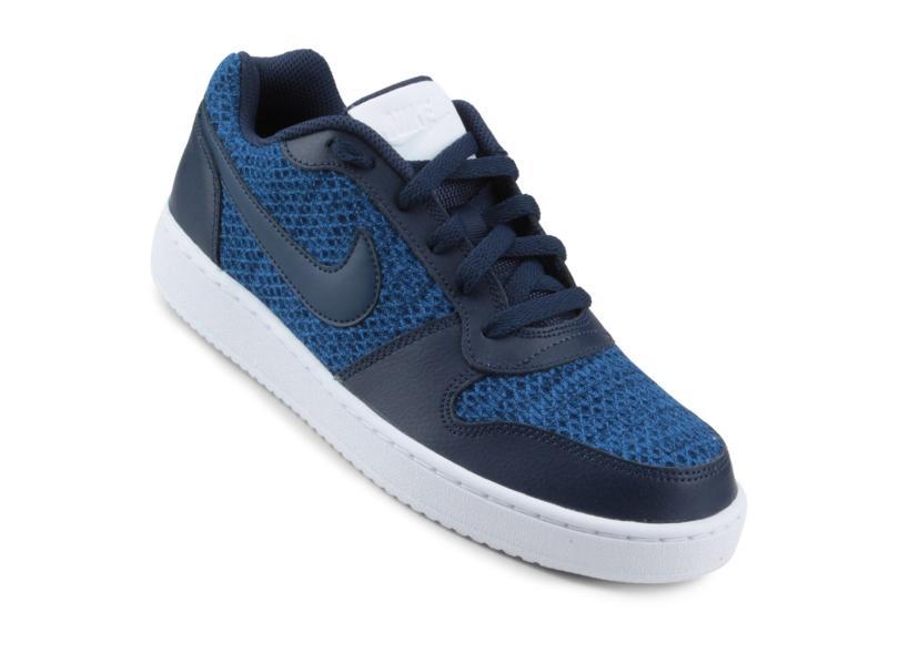 Tênis Nike Ebernon Low Prem Marinho - Original