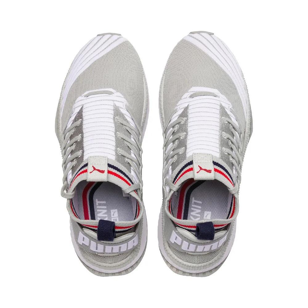 Tênis Puma Evolution Tsugi Jun Sport Stripes - cinza