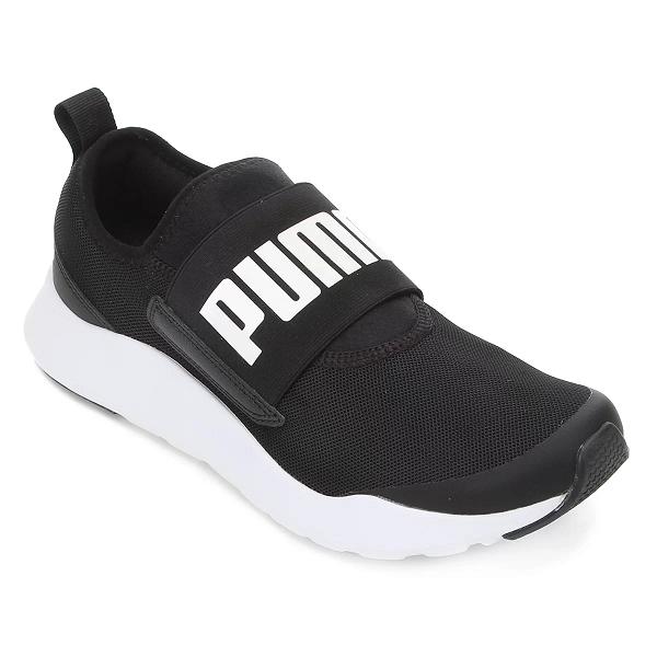 Tênis Puma Wired SlipOn - Black