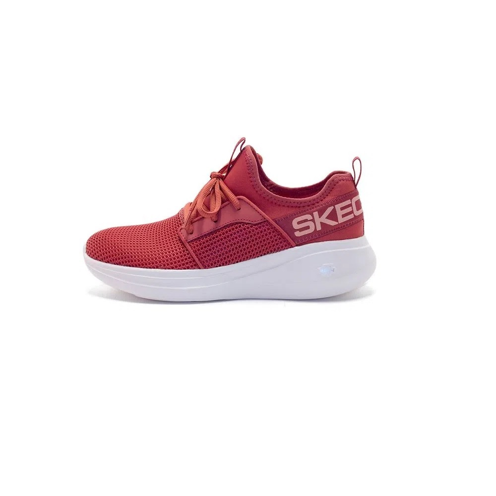 Tênis Skechers Go Run Fast Quick Step - Vermelho Goiaba
