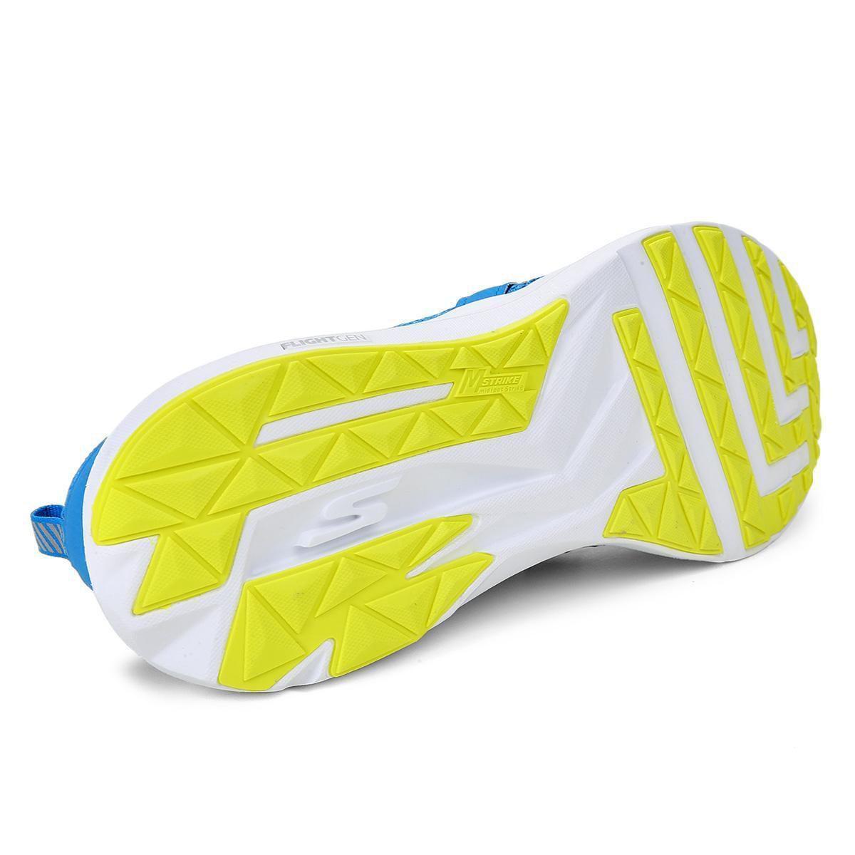 2e0307473 Tênis Skechers Go Run Ride 7 Masculino - Azul - ORIGINAL - Titanes Esportes