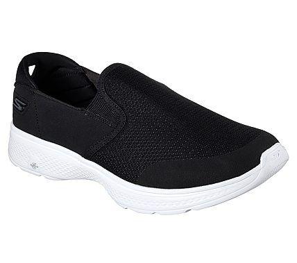 Tênis Skechers Go Walk 4 Contain Masculino - preto