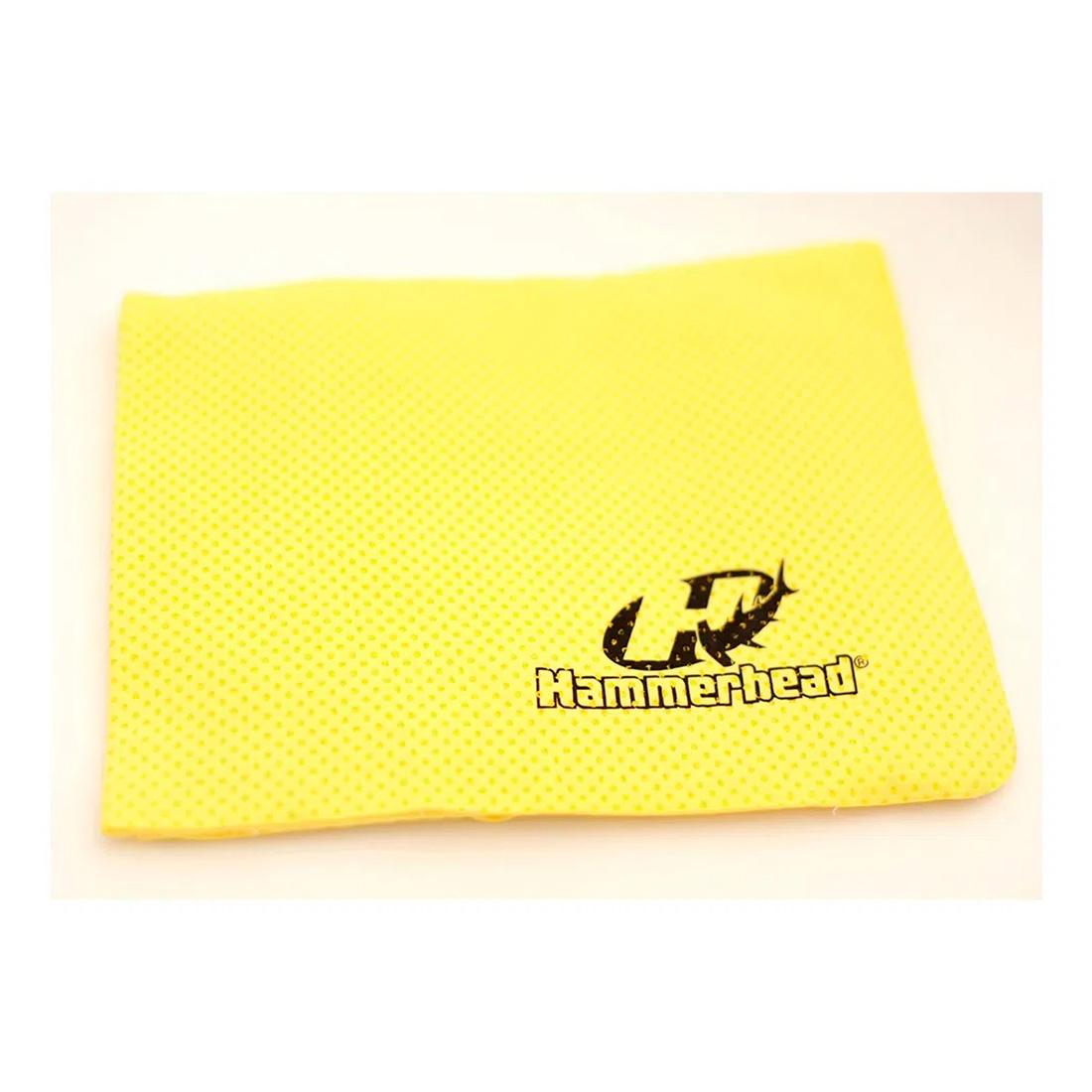 Toalha Esportiva Hammerhead - Amarelo