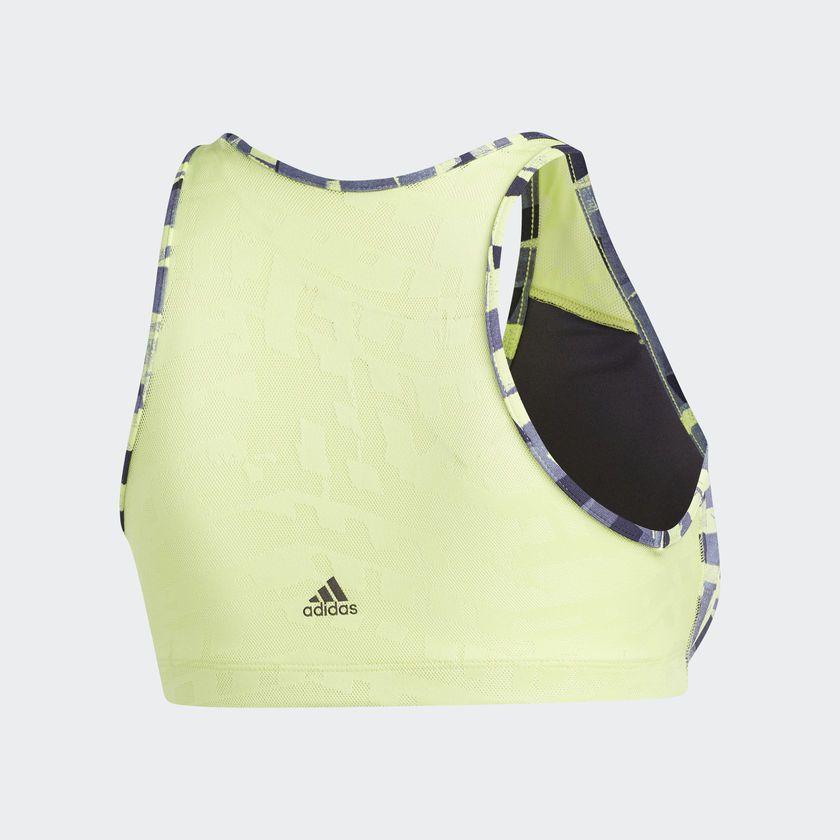 Top Adidas Graphic Padbra - Cinza / Amarelo