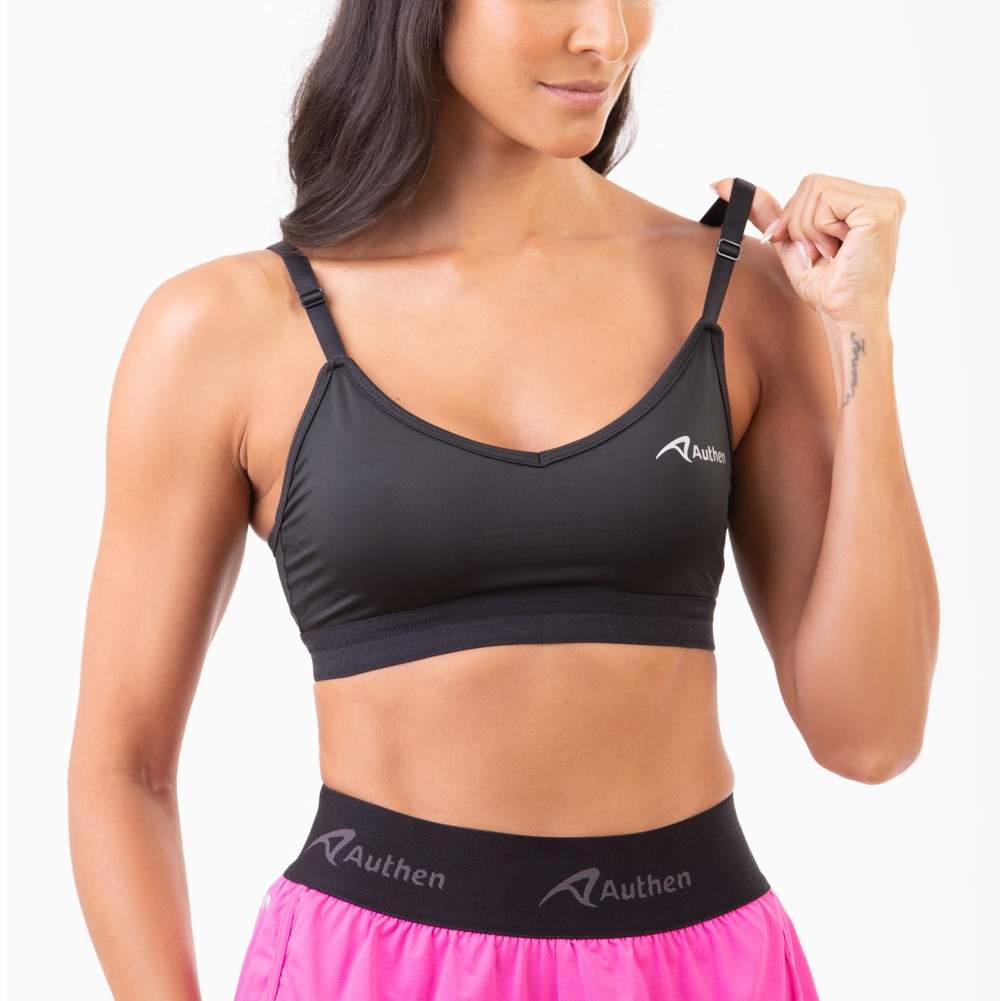 Top Authen Authentic run wanted - Preto